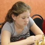 Мучкаева Лиза за игрой