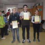 призёры юноши 8-9 кл